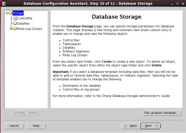 database kurulum13