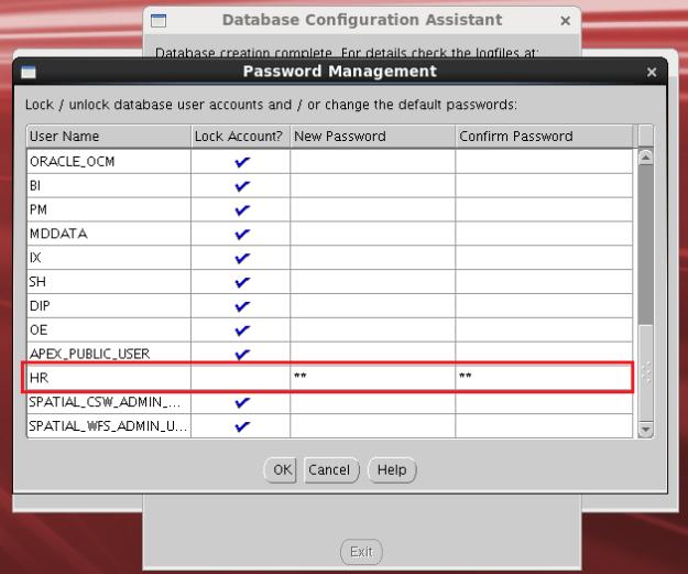 database kurulum18