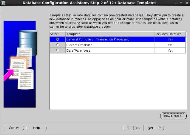 database kurulum3